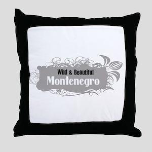 Wild Montenegro Throw Pillow