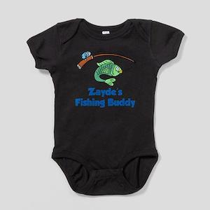 Zayde Fishing Buddy Baby Bodysuit