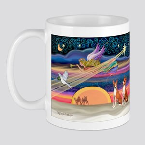 XmasStar/2 Basenjis Mug