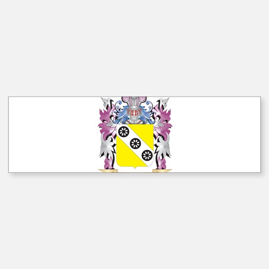 Devos Coat of Arms (Family Crest) Bumper Bumper Bumper Sticker