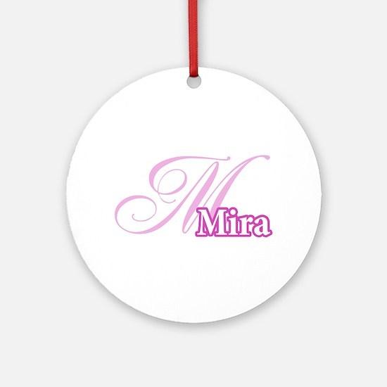 Mira Ornament (Round)