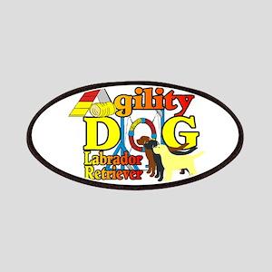 Labrador Retriever Agility Patch