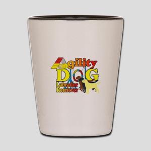 Labrador Retriever Agility Shot Glass