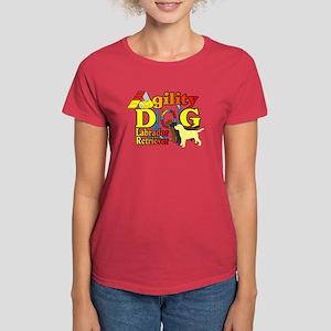 Labrador Retriever Agility Women's Dark T-Shirt