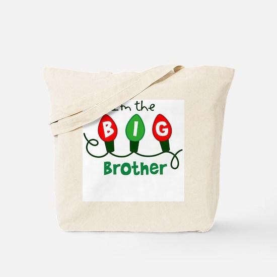 Big Brother Christmas lights Tote Bag