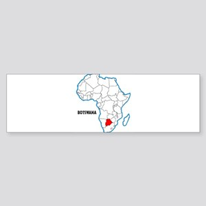 Botswana Bumper Sticker