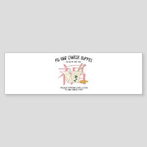 Fu King Chinese Buffet Bumper Sticker