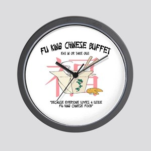 Fu King Chinese Buffet Wall Clock