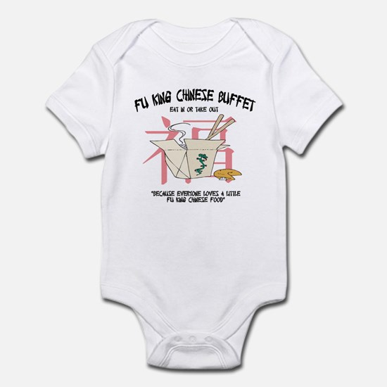 Fu King Chinese Buffet Infant Bodysuit