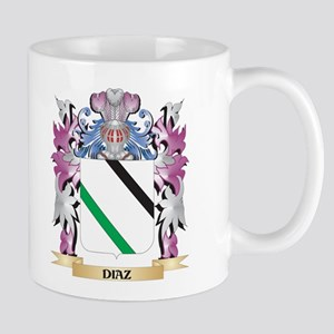 Diaz Coat of Arms (Family Crest) Mugs