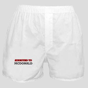 Addicted to Mcdonald Boxer Shorts