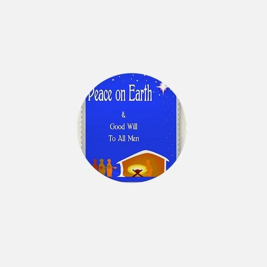 Peace On Earth Mini Button