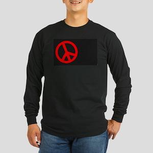 Ban the Bomb Blackboard Long Sleeve T-Shirt
