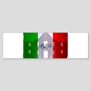 The Flag of Alamo Bumper Sticker