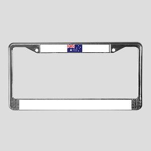 Australia Day License Plate Frame