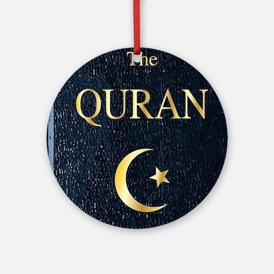 The Quran Round Ornament