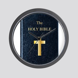 The Holy Bible Wall Clock
