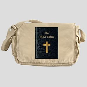 The Holy Bible Messenger Bag