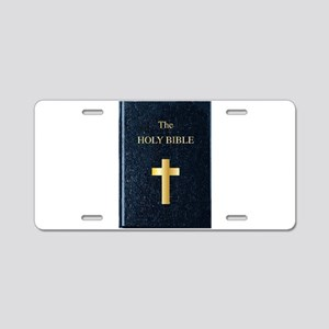 The Holy Bible Aluminum License Plate