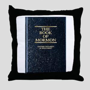 The Book of Mormon Throw Pillow