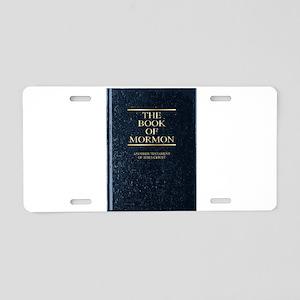 The Book of Mormon Aluminum License Plate