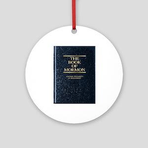 The Book of Mormon Round Ornament