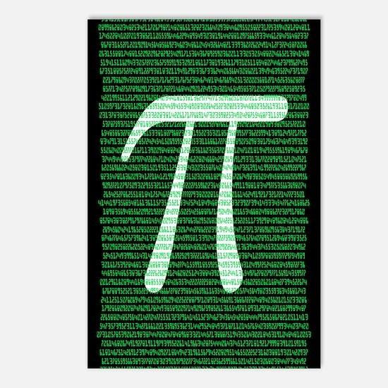 Pi Design 2 Postcards (Package of 8)