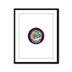 Operation Greehouse Mason Framed Panel Print