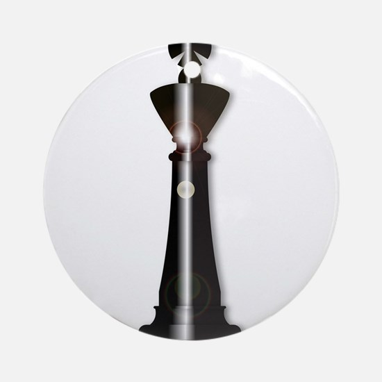Chess King Round Ornament