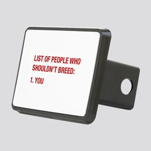 List Of People Rectangular Hitch Cover