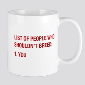 List Of People Mug