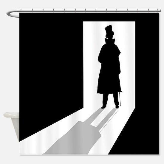 Man in the Doorway Shower Curtain