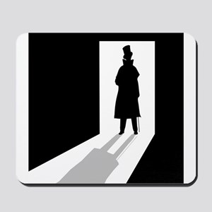 Man in the Doorway Mousepad