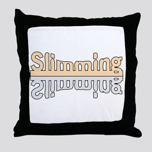 Losing Weight Throw Pillow