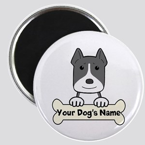 Personalized Pit Bull Magnet