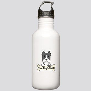 Personalized Pit Bull Stainless Water Bottle 1.0L
