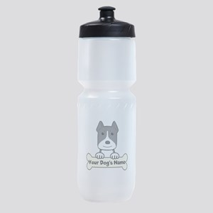Personalized Pit Bull Sports Bottle