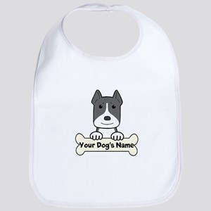 Personalized Pit Bull Bib