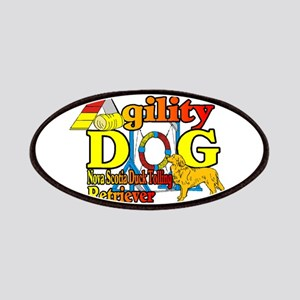 Duck Toller Agility Patch