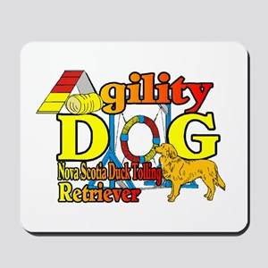 Duck Toller Agility Mousepad