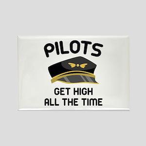 Pilots Get High Rectangle Magnet
