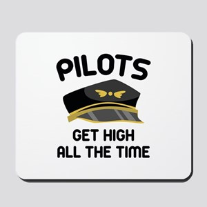 Pilots Get High Mousepad