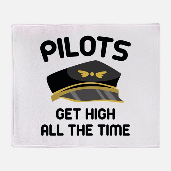 Pilots Get High Stadium Blanket