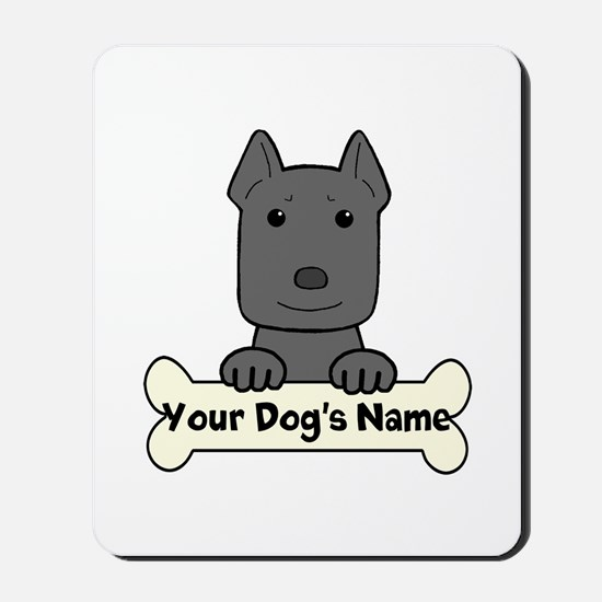 Personalized Pit Bull Mousepad