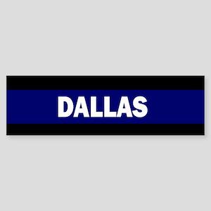 DALLAS POLICE LIVES MATTER Bumper Sticker