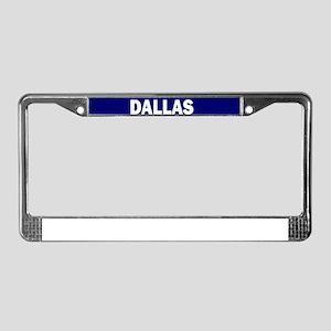 DALLAS POLICE LIVES MATTER License Plate Frame