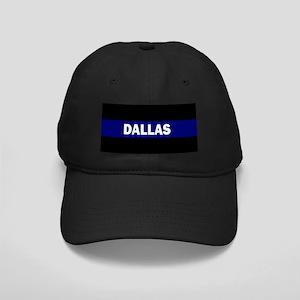 DALLAS POLICE LIVES MATTER Black Cap