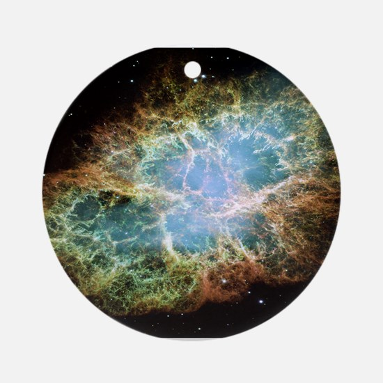 Crab Nebula Ornament (Round)