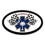 South Carolina Race Medic Sticker (oval)