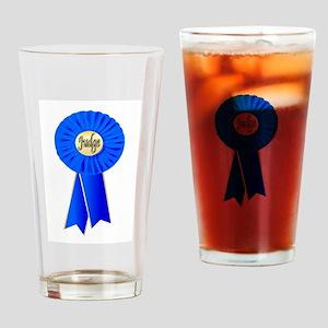 Judge Rosette Drinking Glass